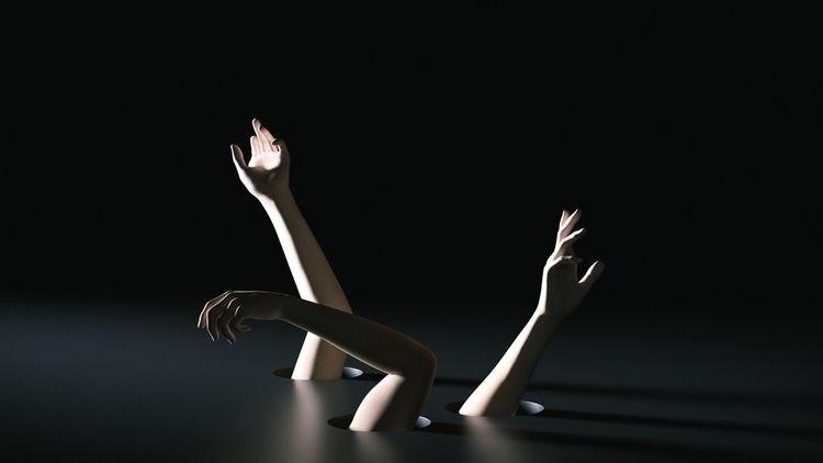 3D, cgi, cinema4d, c4d, hands - alisahba | ello