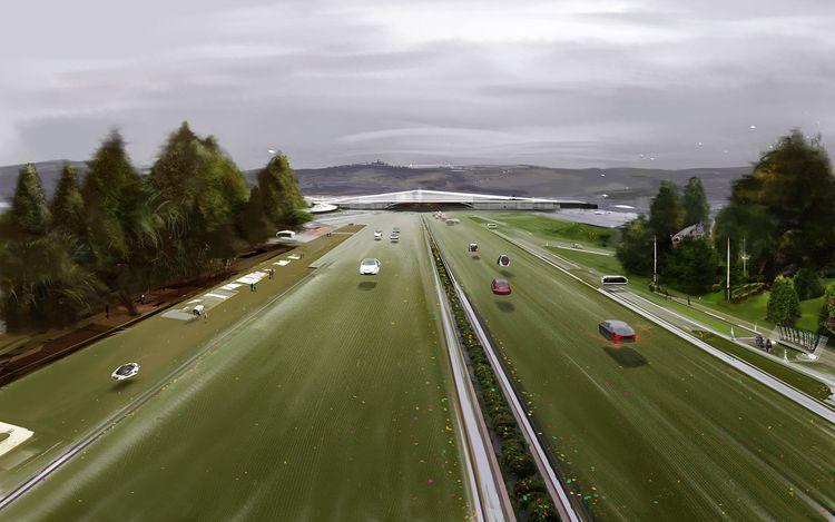 Green Road - digitalpainting, conceptart - gonzalogolpe   ello