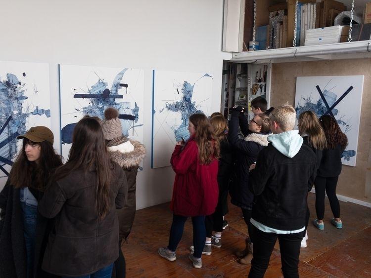 nice studio visit large group S - dereklerner | ello