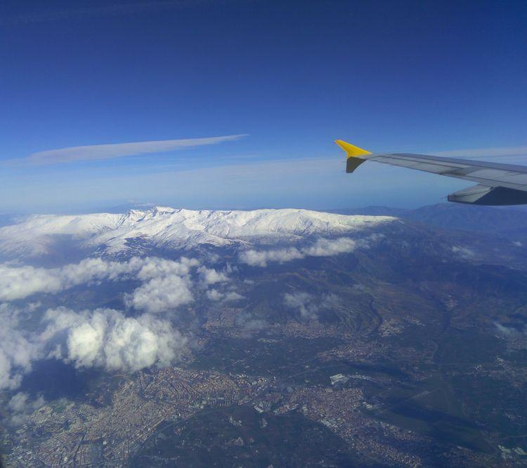 Granada Sierra Nevada desde el  - demetriocalle | ello
