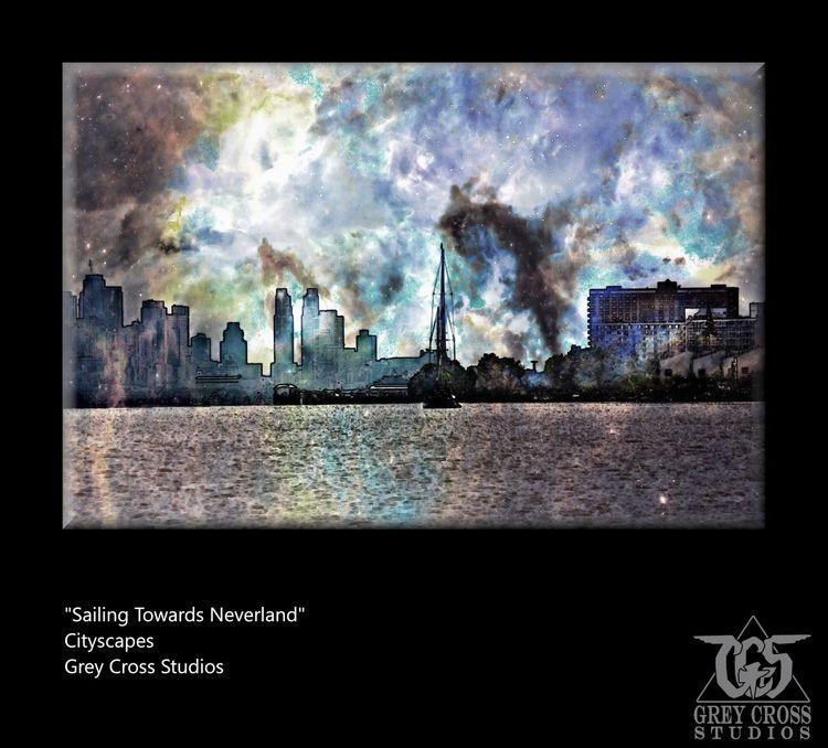 work Cityscapes series - art, artist - greycrossstudios | ello