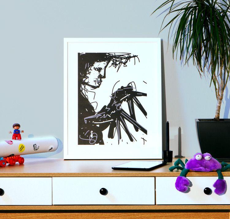 Mobile draw (Art friends app /  - rimadi | ello