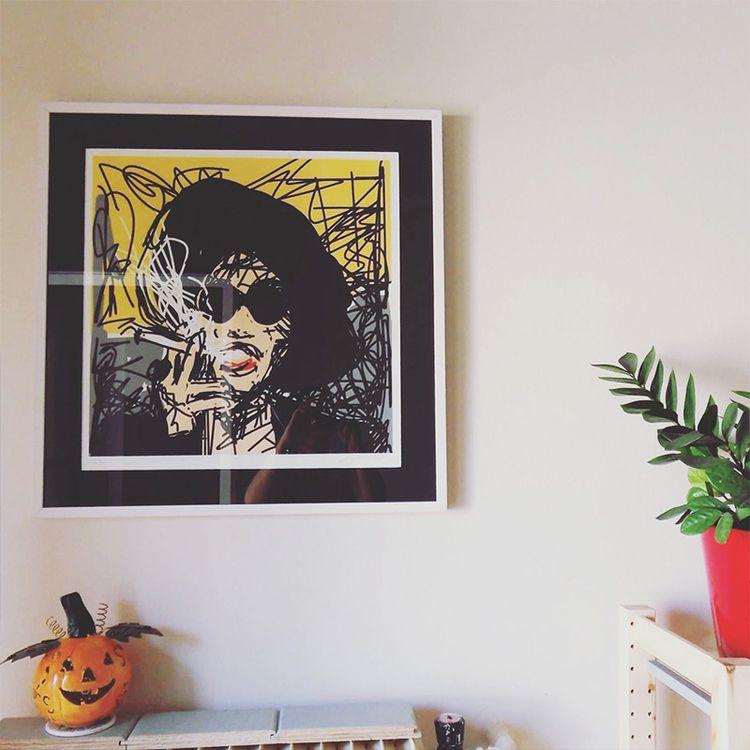 Marla Mobile draw (Art friends  - rimadi | ello