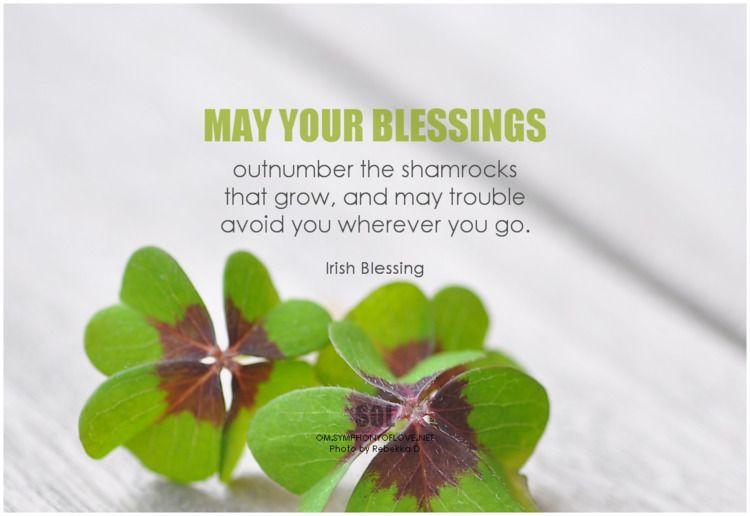 blessings outnumber shamrocks g - symphonyoflove | ello