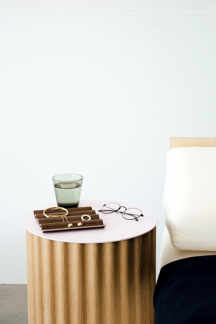 simple bedside table hidden sto - studiocorelam | ello
