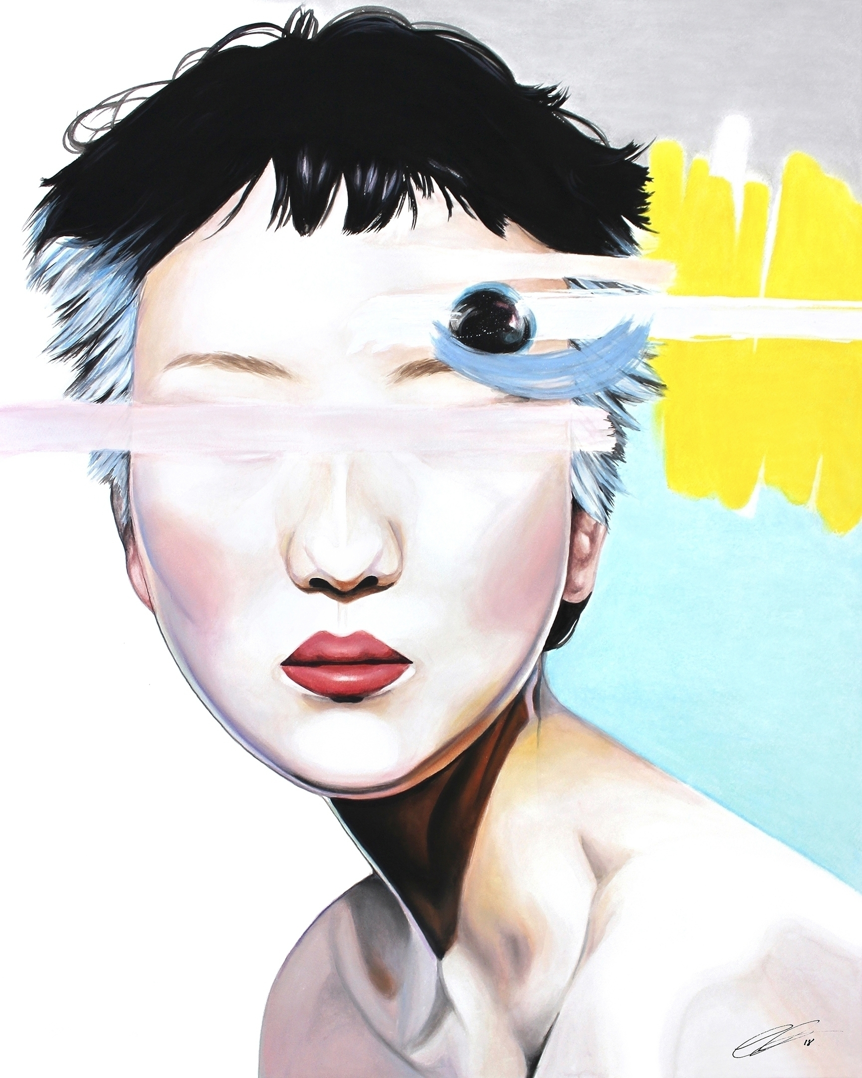 ABERRANT BEHAVIOR Watercolor, p - defectivebarbie | ello