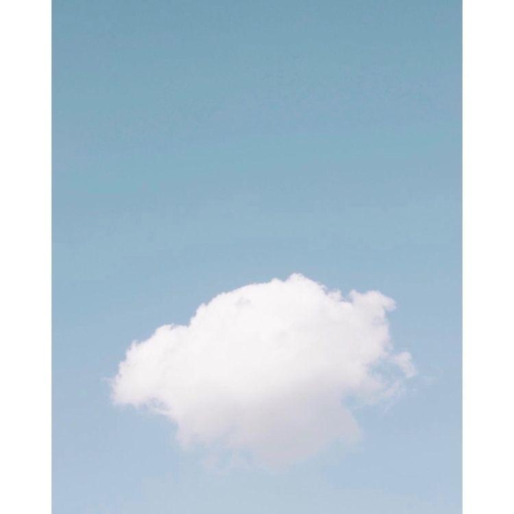 cloud - ello, minimal, minimalism - madebyfelix | ello