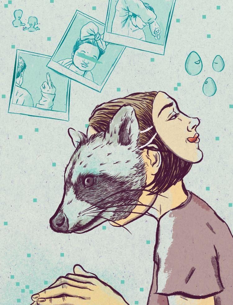 Illustrations Esteban Ordóñez i - mariacastellosolbes | ello