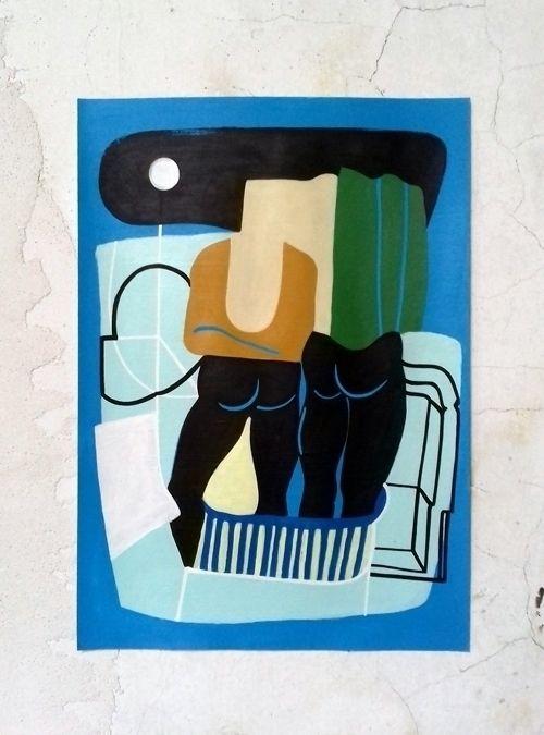 PAPER Acrylic paper size A3 - 2 - moonmambo | ello
