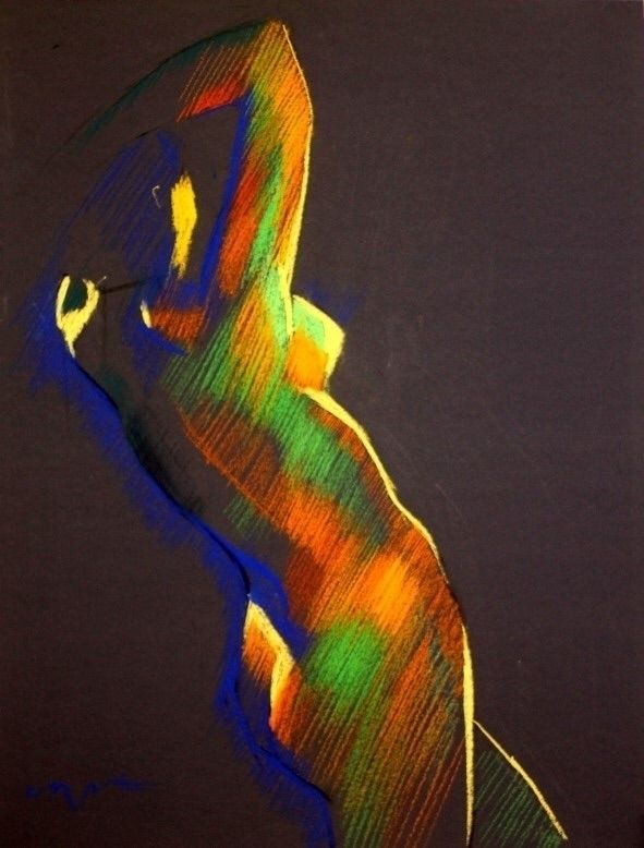 Cubistic nude (2013) (sold) Pas - corneakkers | ello