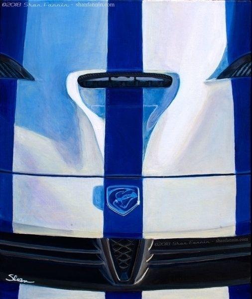 2015 Dodge Viper, 16x20x2, acry - shanfannin | ello