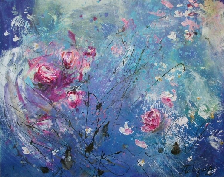 Symphony wild roses, Tango Shad - natashapevzner | ello