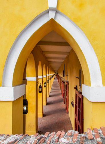 dungeon turned shops Cartagena - etbtravelphotography | ello