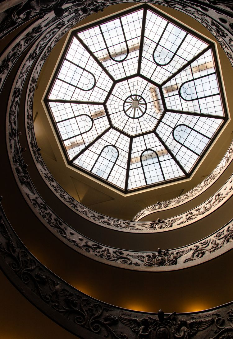 famous spiral staircase Vatican - dangvick | ello