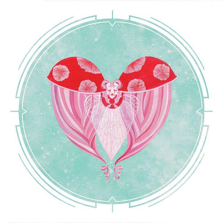 POKER HEADS Ladybug series crea - mosswater | ello