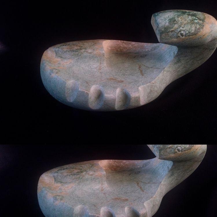 Helpless, sculpture stone whama - keeswoestenenk | ello