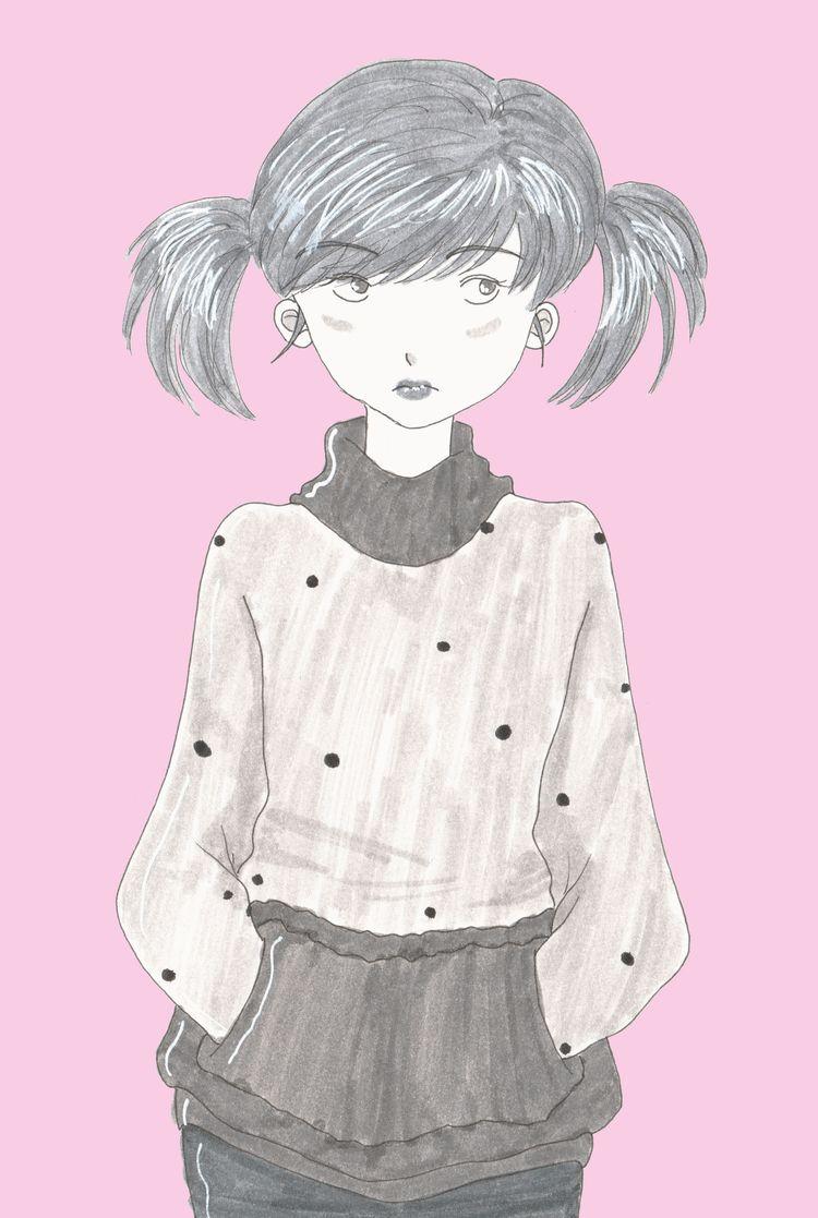 girl wearing funny jumper - woman - wildflower86 | ello