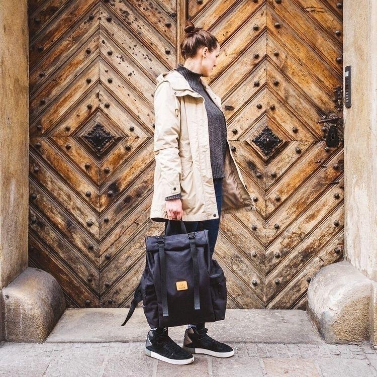 Meet roll top backpack Agnel, i - velotton   ello