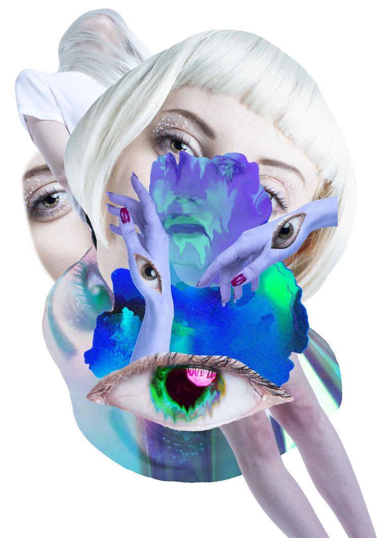 ANXIOUS - collage, digitalcollage - jasminpelz | ello