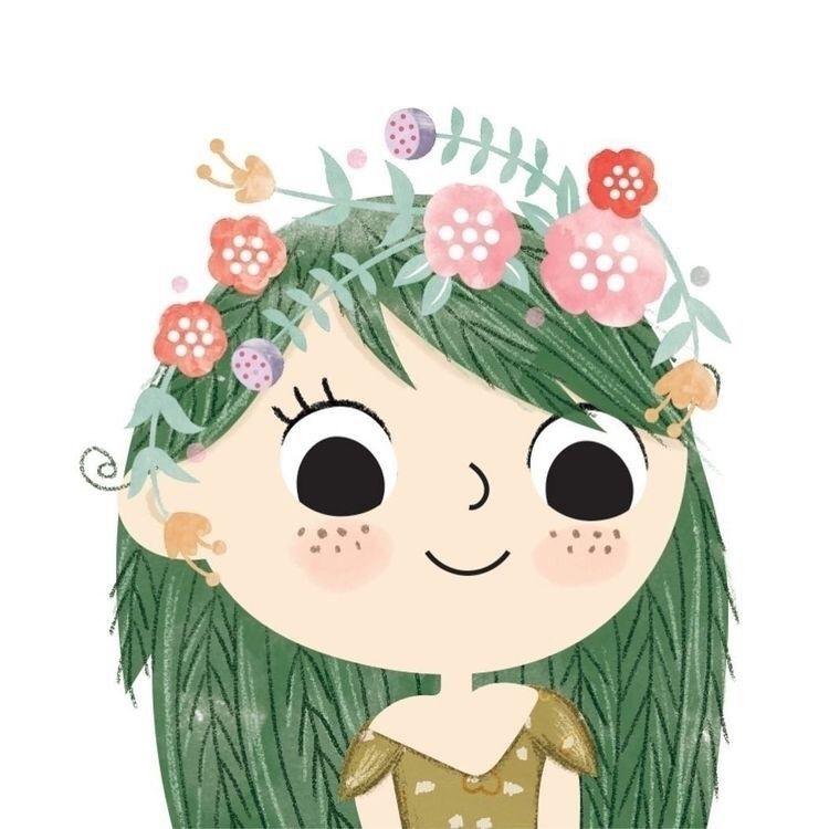 Bienvenida princesa primavera!  - claudethecloud | ello
