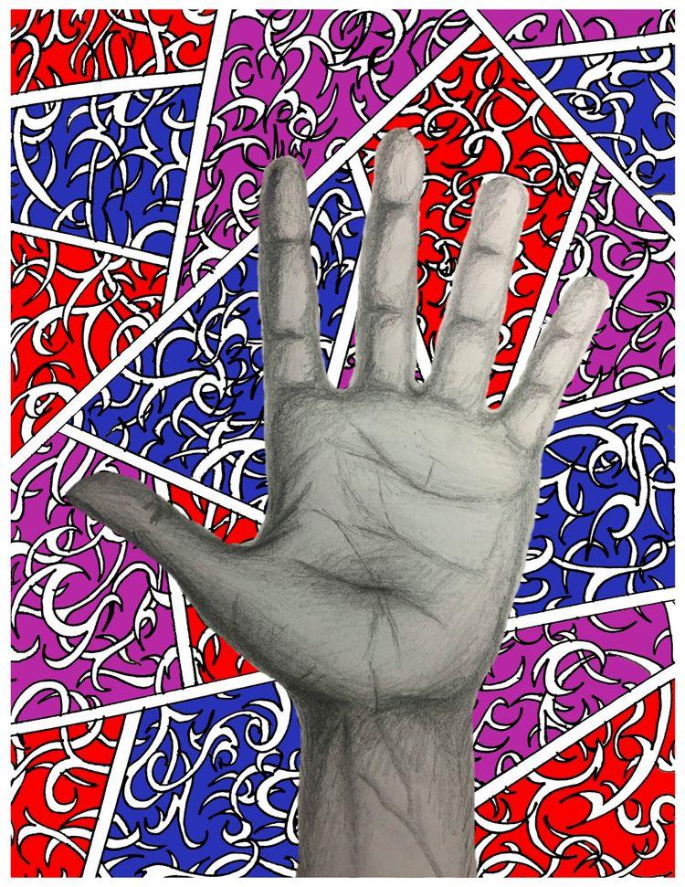 Raise Hand Justin Staton born r - justinstaton | ello