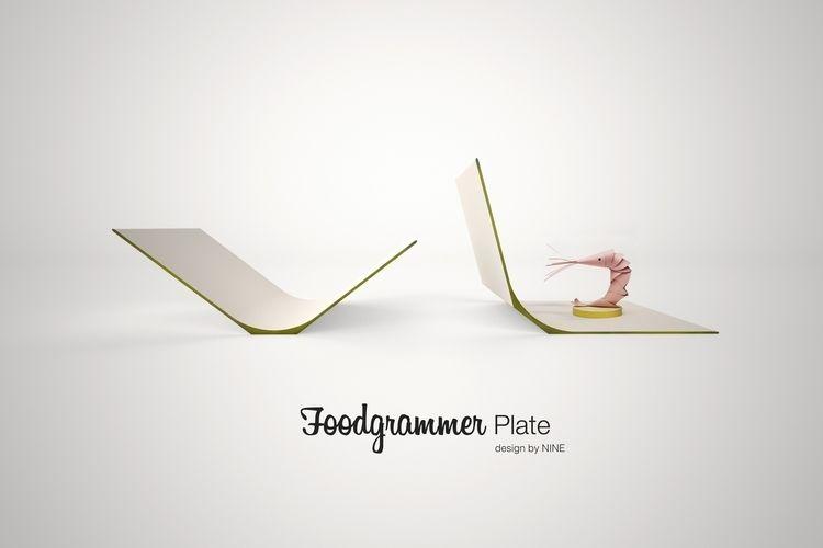 Project FOODgrammer Plate Desig - nineassociati   ello
