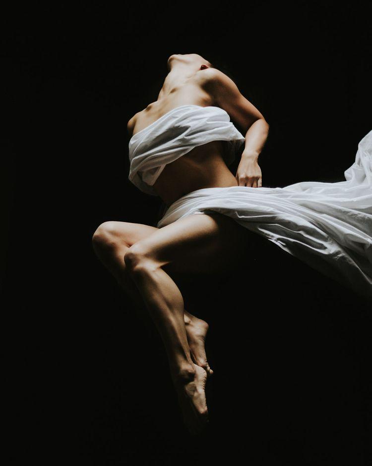 portrayal, dark light. Model: A - djuansala | ello