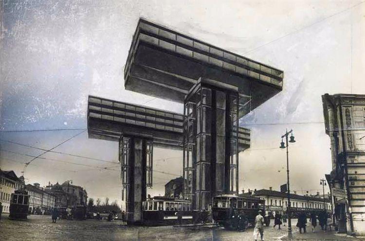 El Lissitzky, Wolkenbügel [clou - charles_3_1416 | ello