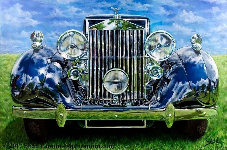 """1937 Rolls Royce Phantom III P - shanfannin | ello"