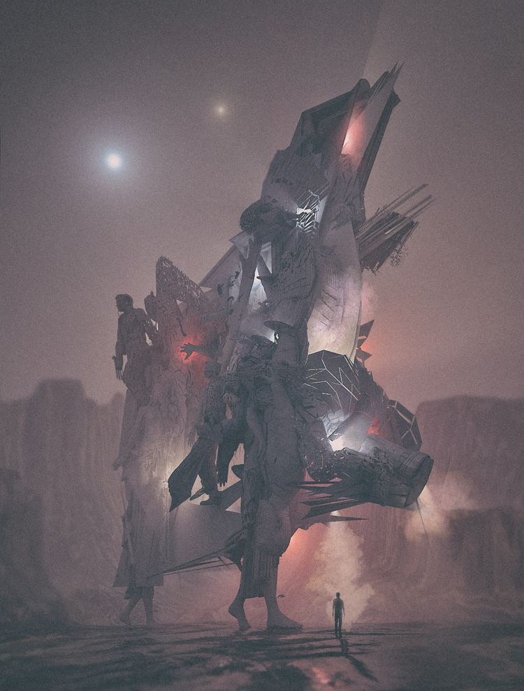 iam diving realms brutalism :)  - flxrothschild | ello