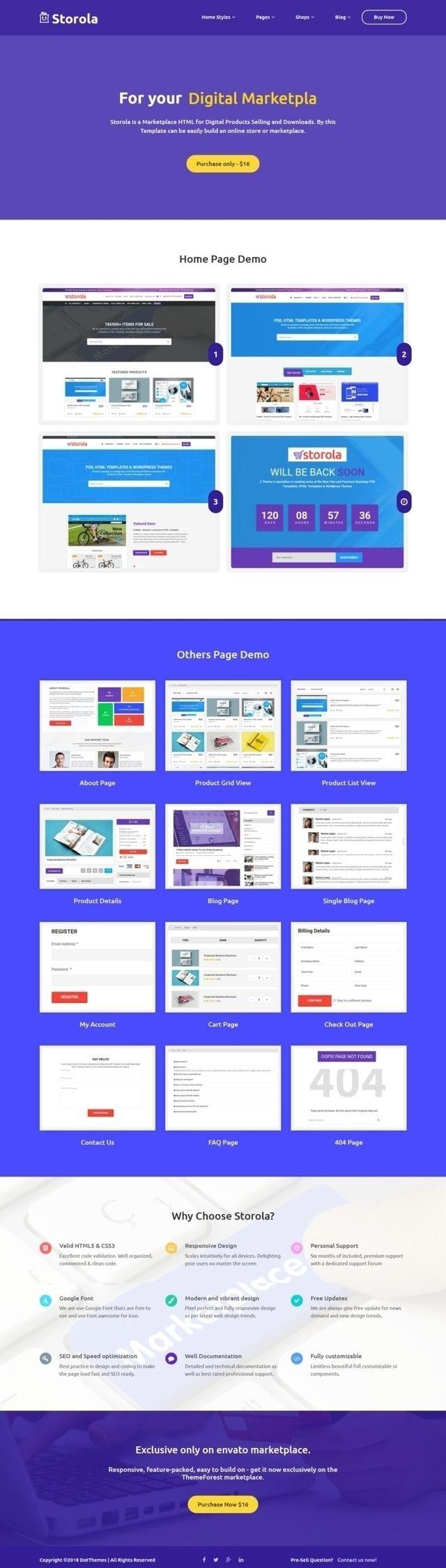 Storola - Digital Store Marketp - designworld | ello