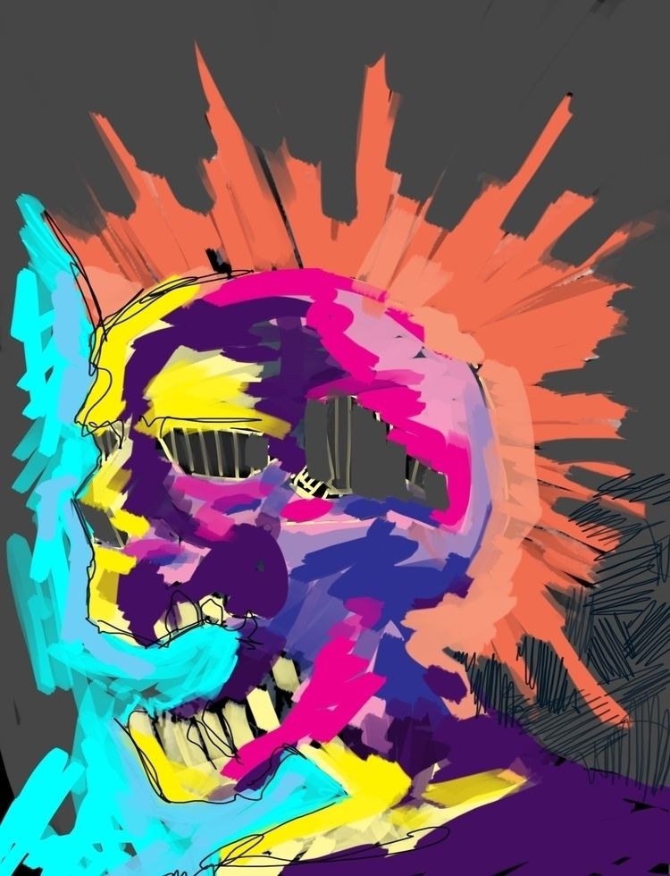 Exploited, Digital Painting Pho - underodzart | ello