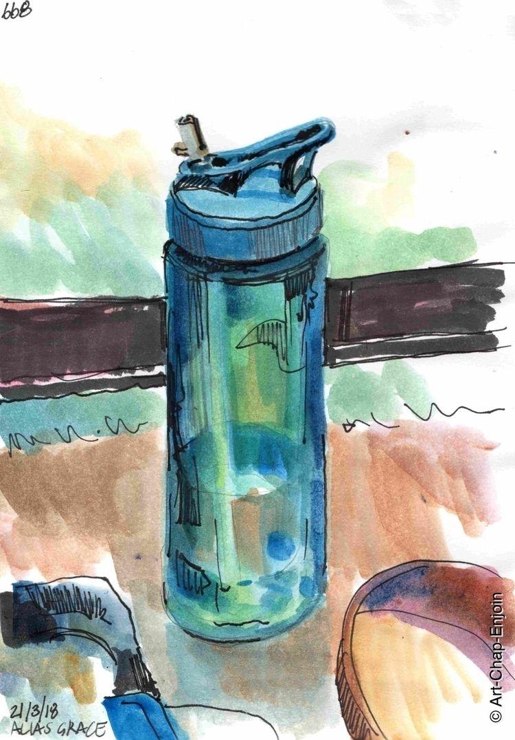 668 - Alias Grace doodle watche - artchapenjoin | ello