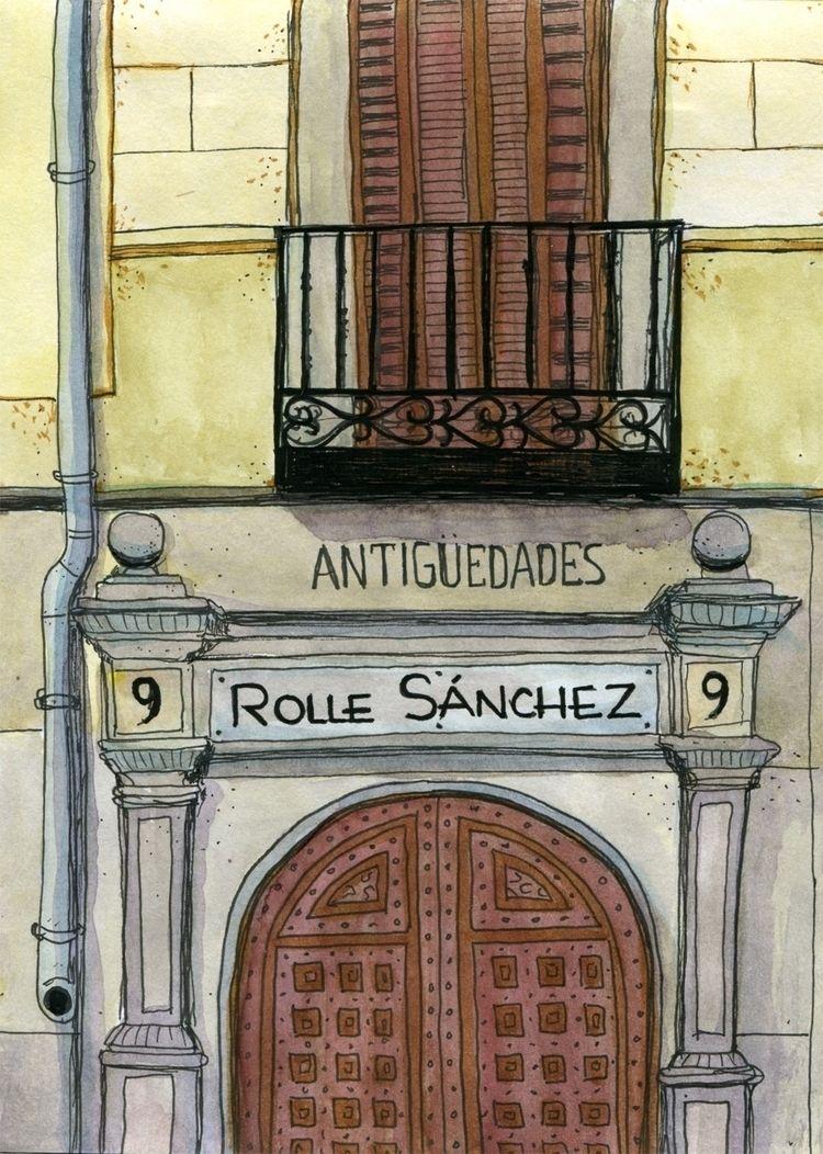 Antigüedades Rolle Sánchez. Ink - juanjogasp | ello