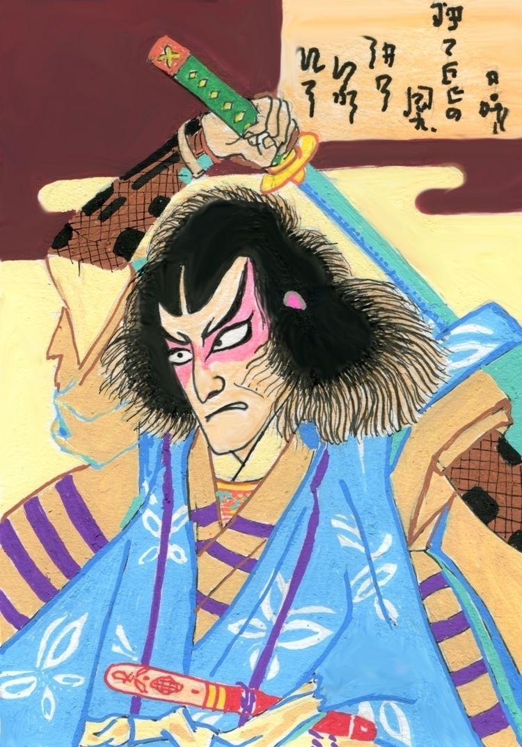 sketches Toyohara Kunichika Kun - juanjogasp   ello