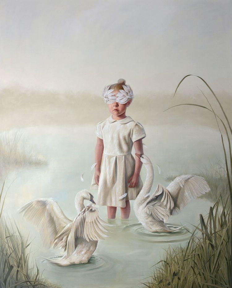 Ritual Great White Swan No2 • 2 - volkano-art | ello