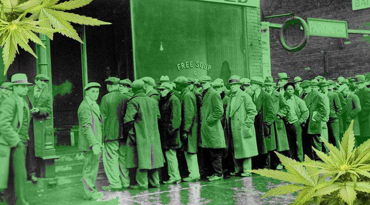 Marijuana Great Depression - history - ministryofcannabis | ello