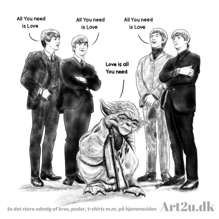 Art2u.dk - Yoda, Beatles, prints - art2u | ello