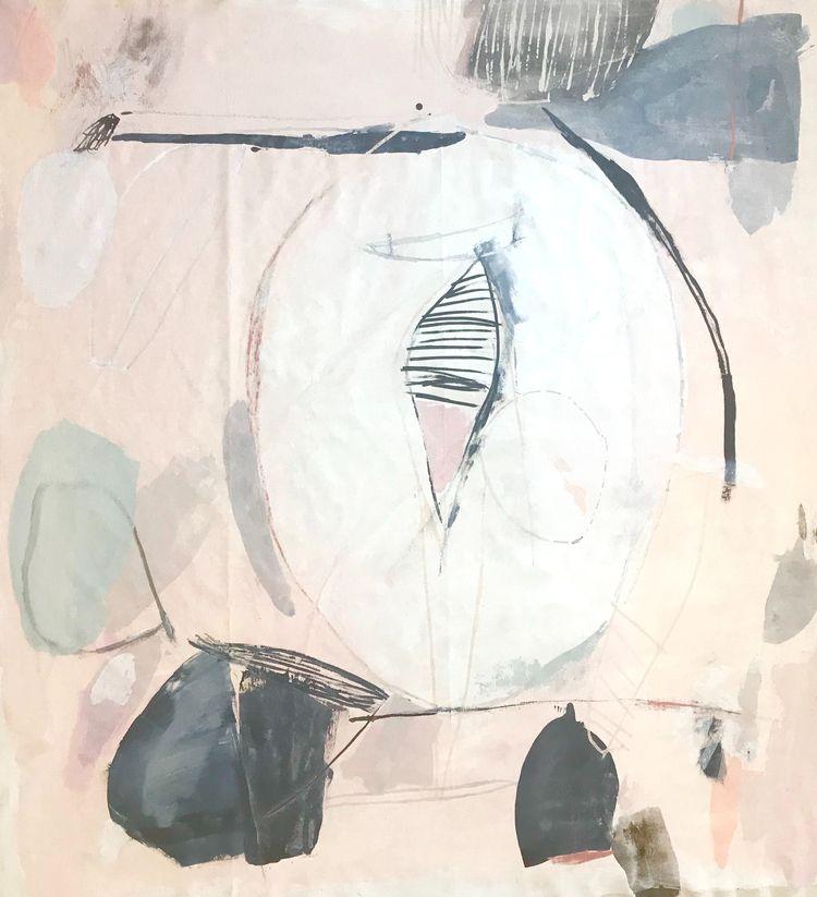 working woman artist, painter,  - heatherchontos | ello