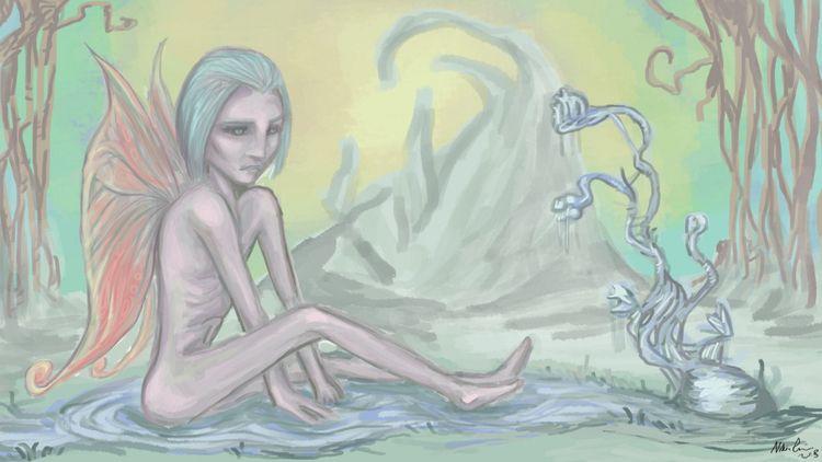 fairy progress - art, digitalart - nikita_r   ello