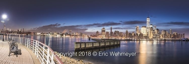 Manhattan Skyline Panorama Febr - ericwehmeyer | ello