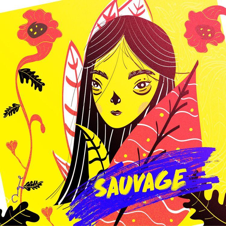 Le sauvage monde - Art, texture - adrianaduque | ello
