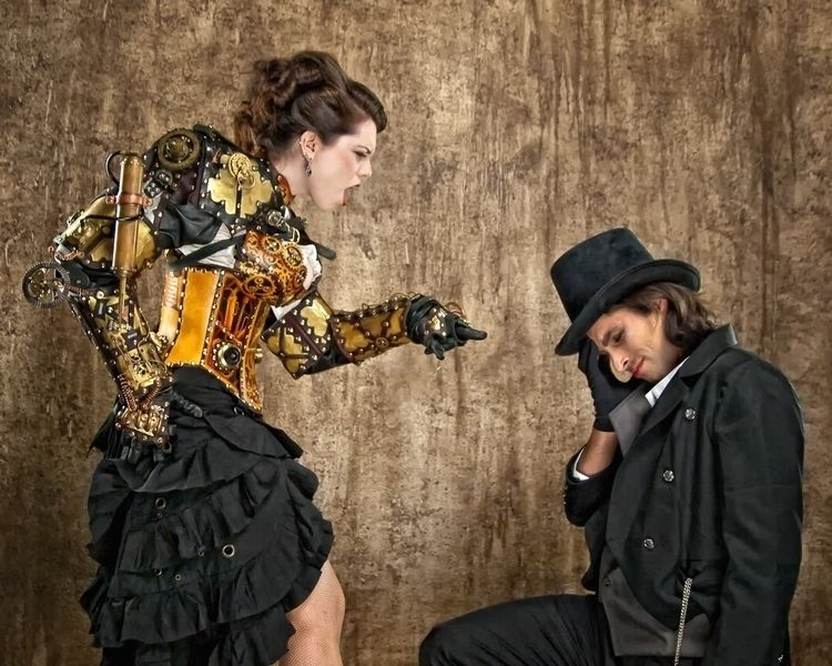 Steampunk photo shoot Las Vegas - dogstarpics | ello