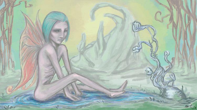 fairy progress - art, digitalart - nikita_r | ello
