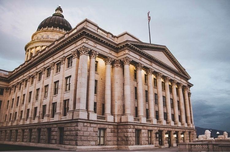 Utah State Capitol building - utah - lauragraphs_ | ello
