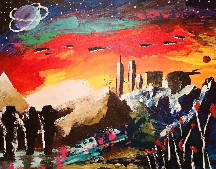 Vega Prime Acrylic canvas. Crea - jeffpeak | ello