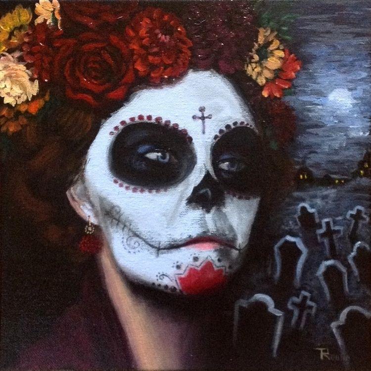 Dia De Los Muertos N1 - 10″x10 - troulin | ello