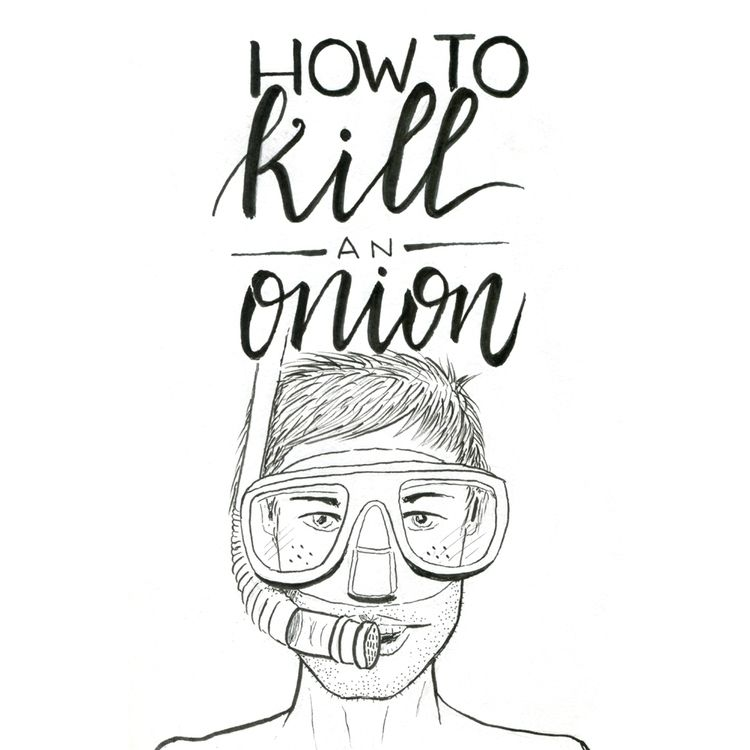 kill onion. Ink sketch - juanjogasp | ello