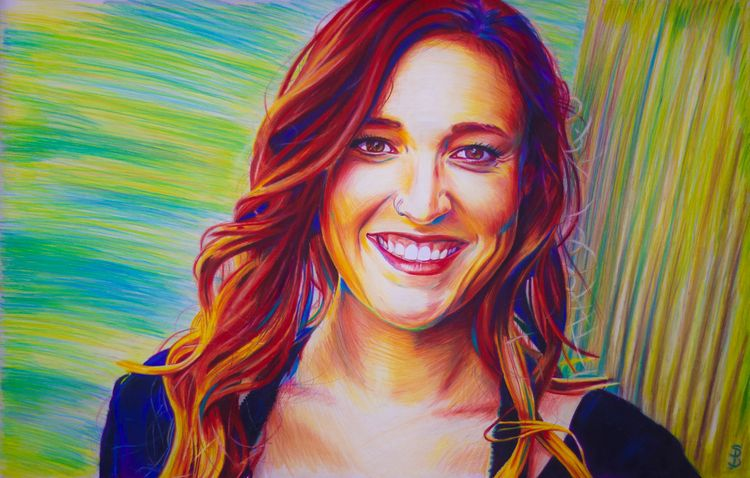 Jessica (colored pencil drawing - skyler_brown_portraits | ello