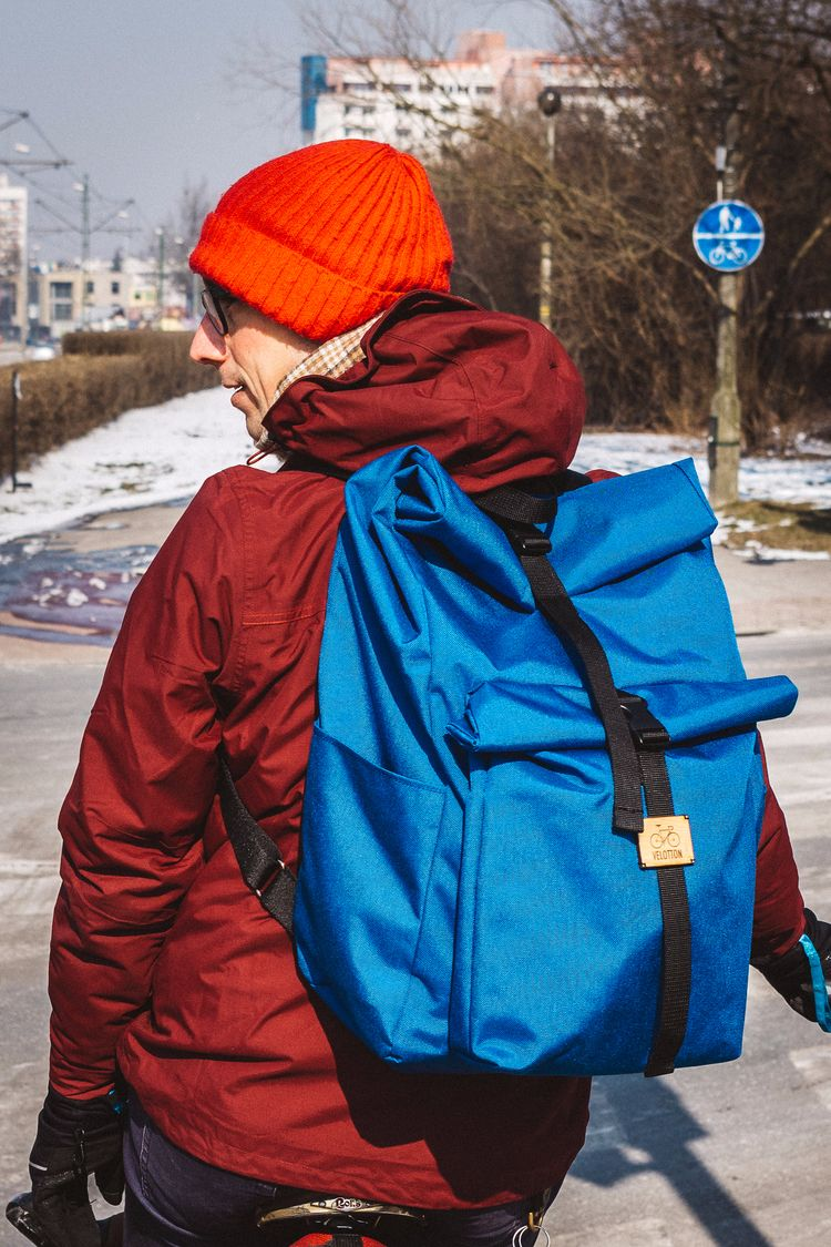 Double rolltop city backpack Be - velotton | ello